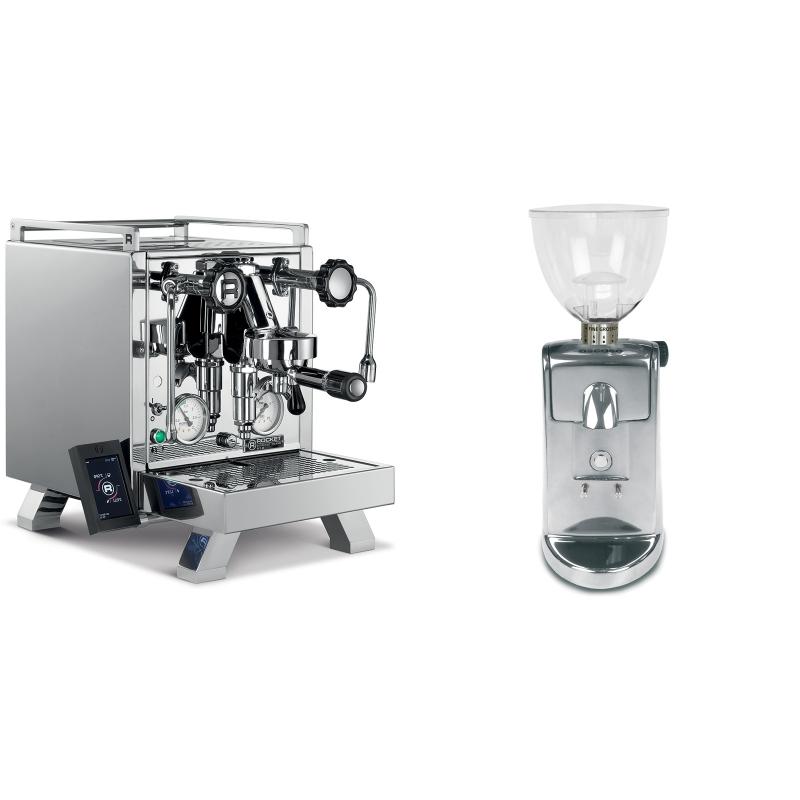 Rocket Espresso R 58 Cinquantotto + Ascaso i-mini i1, leštěný hliník