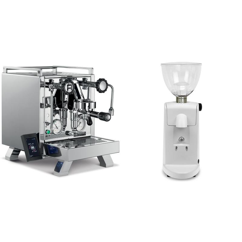 Rocket Espresso R 58 Cinquantotto + Ascaso i-mini i1, bílá