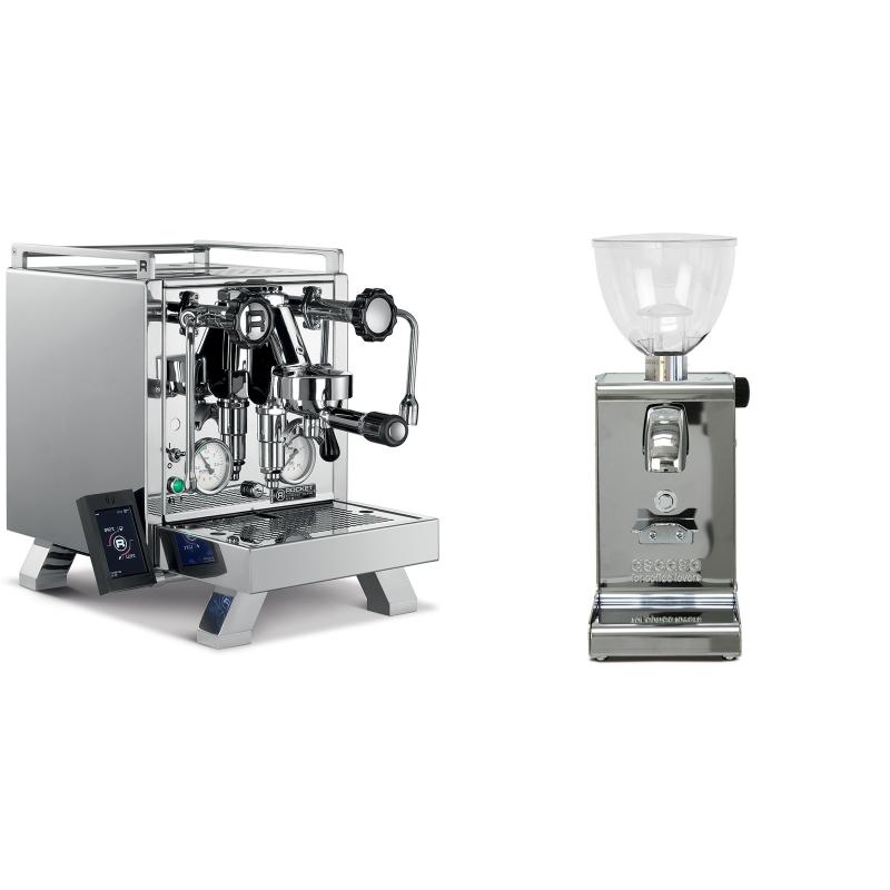 Rocket Espresso R 58 Cinquantotto + Ascaso i-steel, lesk