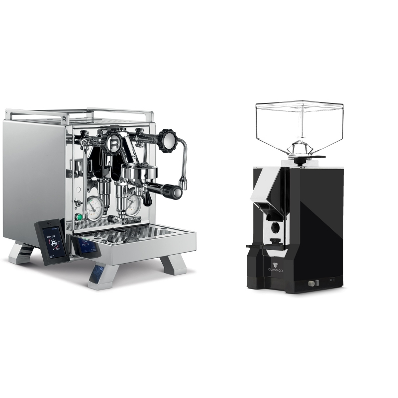 Rocket Espresso R 58 Cinquantotto + Eureka Mignon Classico, CR black