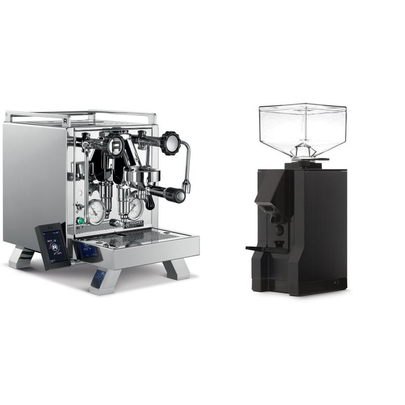 Rocket Espresso R 58 Cinquantotto + Eureka Mignon Manuale, BL black