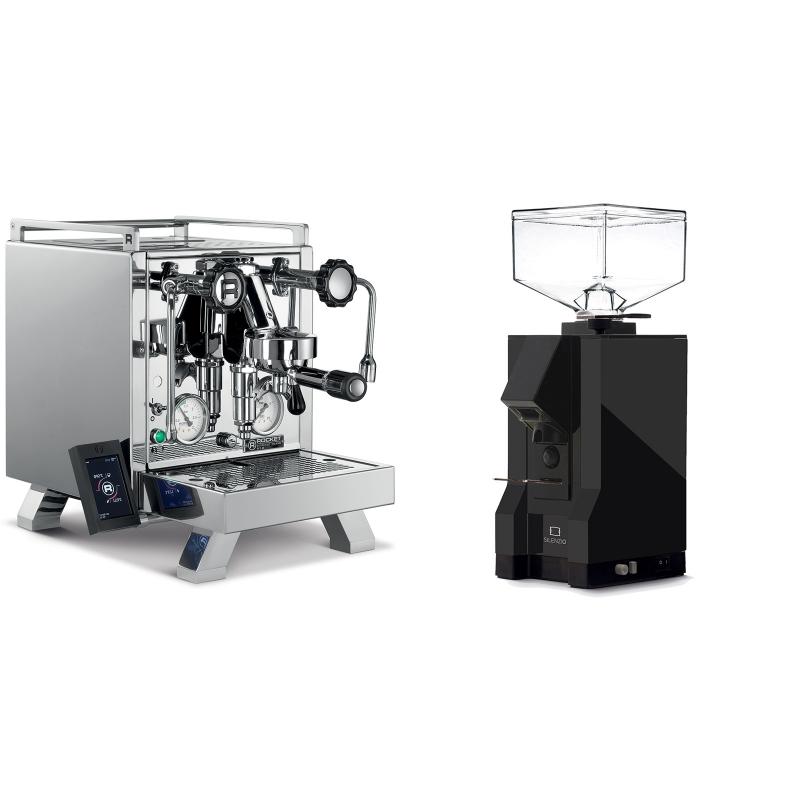 Rocket Espresso R 58 Cinquantotto + Eureka Mignon Silenzio, BL black