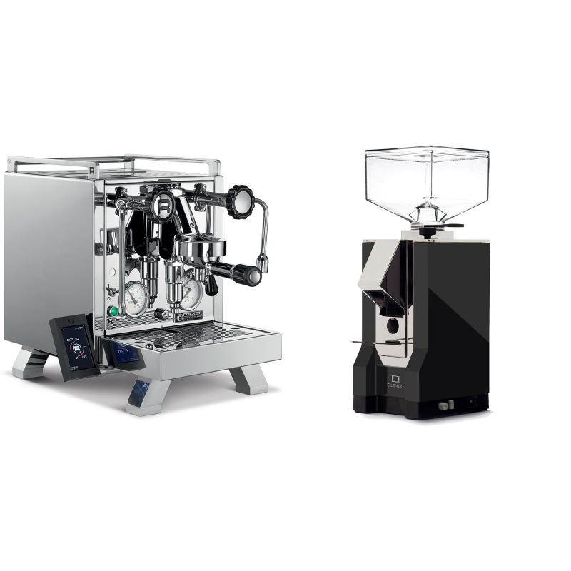 Rocket Espresso R 58 Cinquantotto + Eureka Mignon Silenzio, CR black