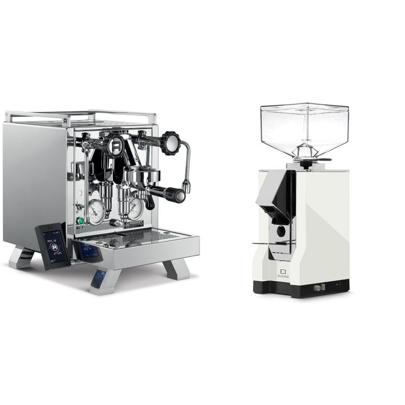 Rocket Espresso R 58 Cinquantotto + Eureka Mignon Silenzio, CR white