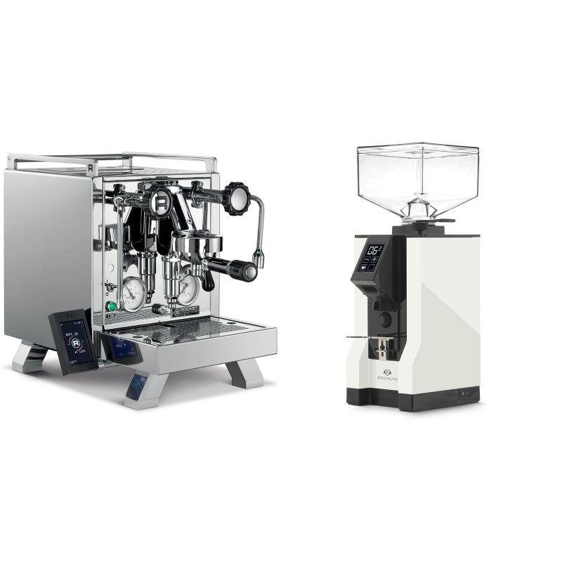 Rocket Espresso R 58 Cinquantotto + Eureka Mignon Specialita, BL white