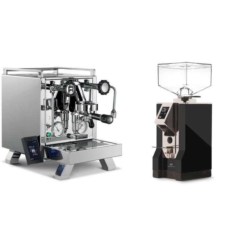 Rocket Espresso R 58 Cinquantotto + Eureka Mignon Specialita, CR black