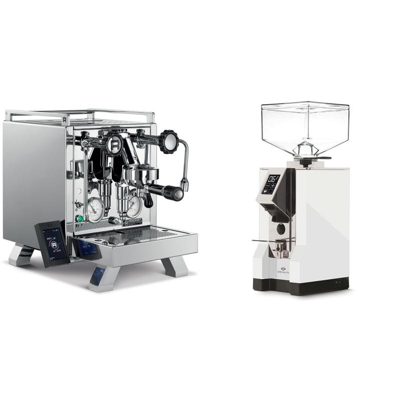 Rocket Espresso R 58 Cinquantotto + Eureka Mignon Specialita, CR white