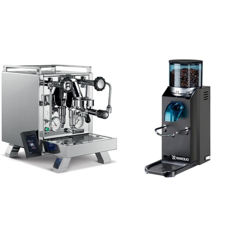 Rocket Espresso R 58 Cinquantotto + Rancilio Rocky Doserless, černá