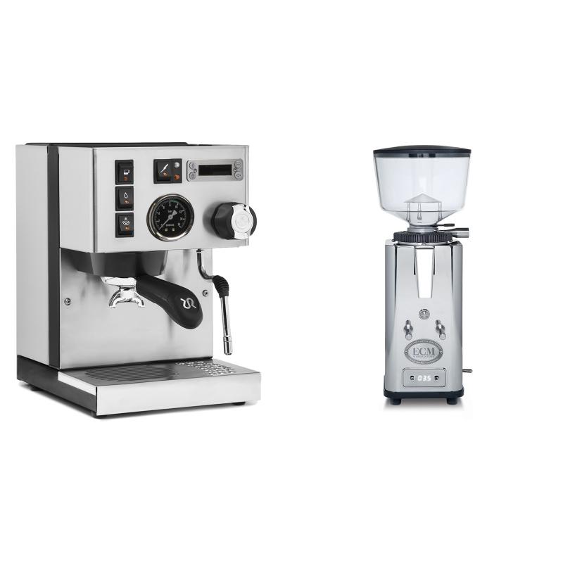 Rancilio Silvia PID Buna café edice + ECM S-Automatik 64