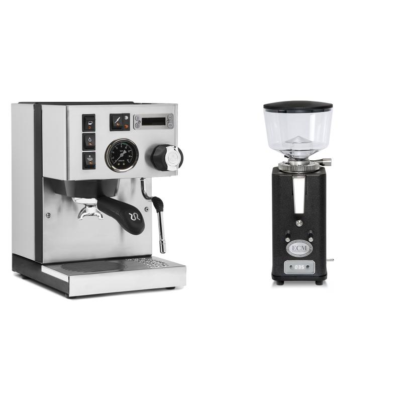Rancilio Silvia PID Buna café edice + ECM S-Automatik 64, anthracite