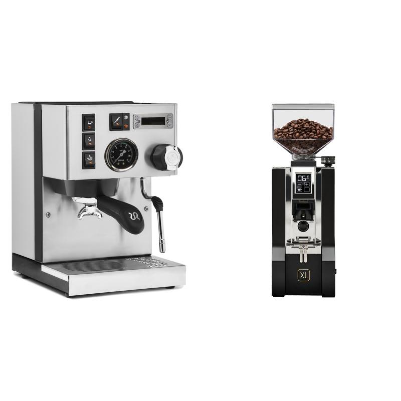 Rancilio Silvia PID Buna café edice + Eureka Mignon XL, CR black