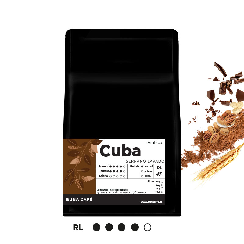 Cuba, Serrano Lavado, RL45, 250g