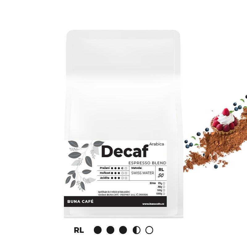 Decaffeinated Espresso blend, RL50, 1000g