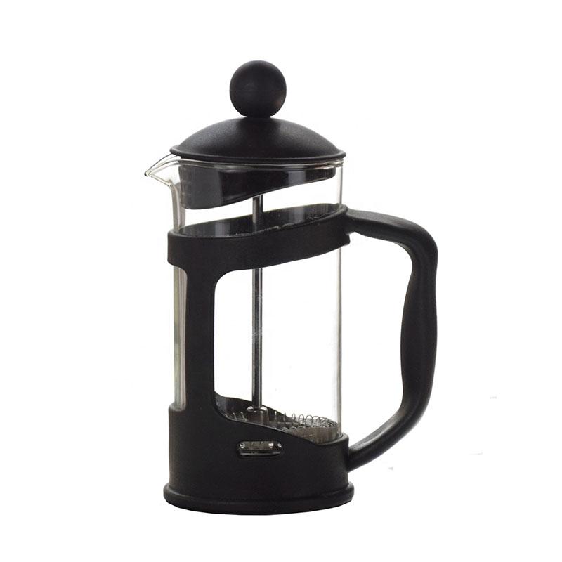 Ecocoffee french press, 0,6l, černý
