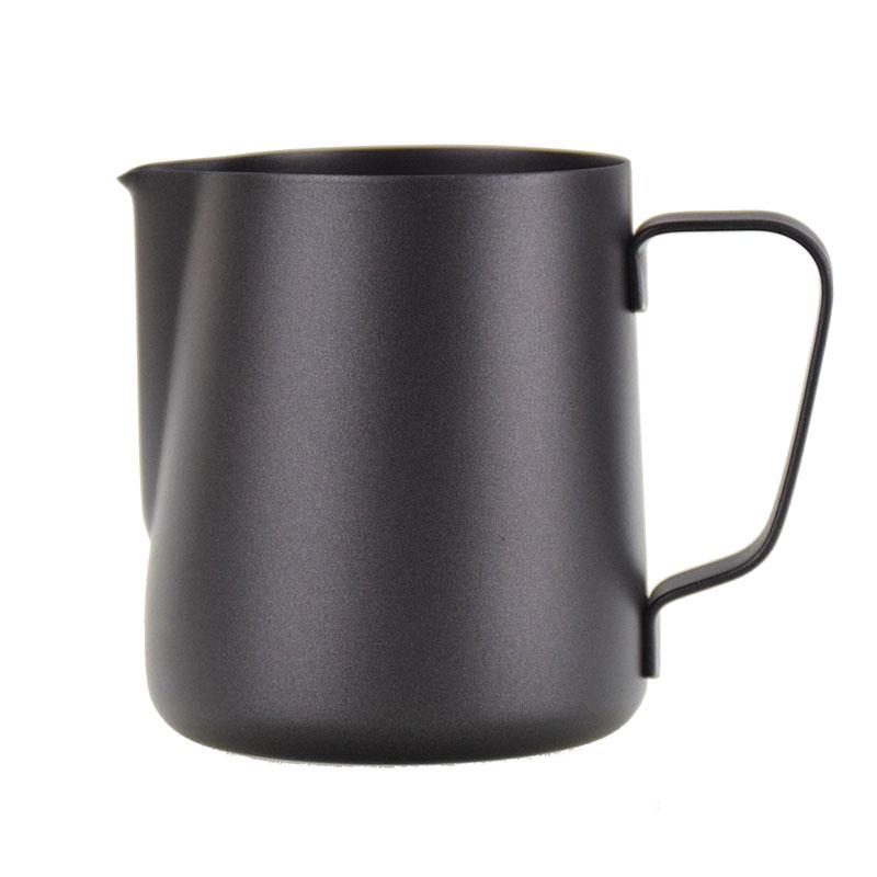 Ecocoffee konvička na šlehání mléka Barista, černá, 35 cl