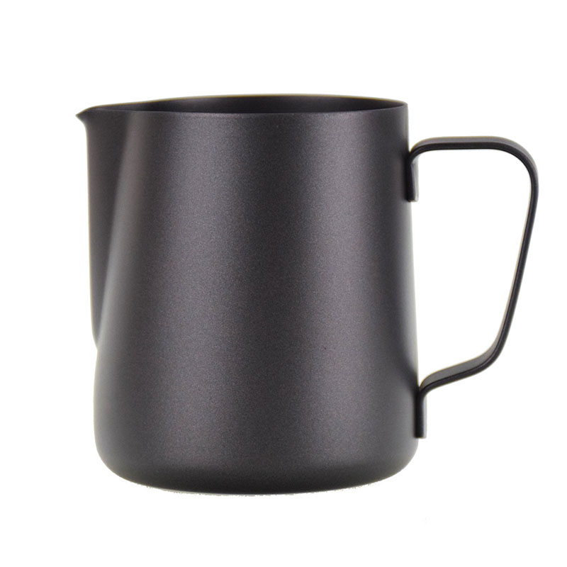 Ecocoffee konvička na šlehání mléka Barista, černá, 60 cl