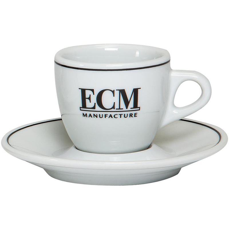 ECM šálek s podšálkem 60 ml, espresso (set 6 ks)