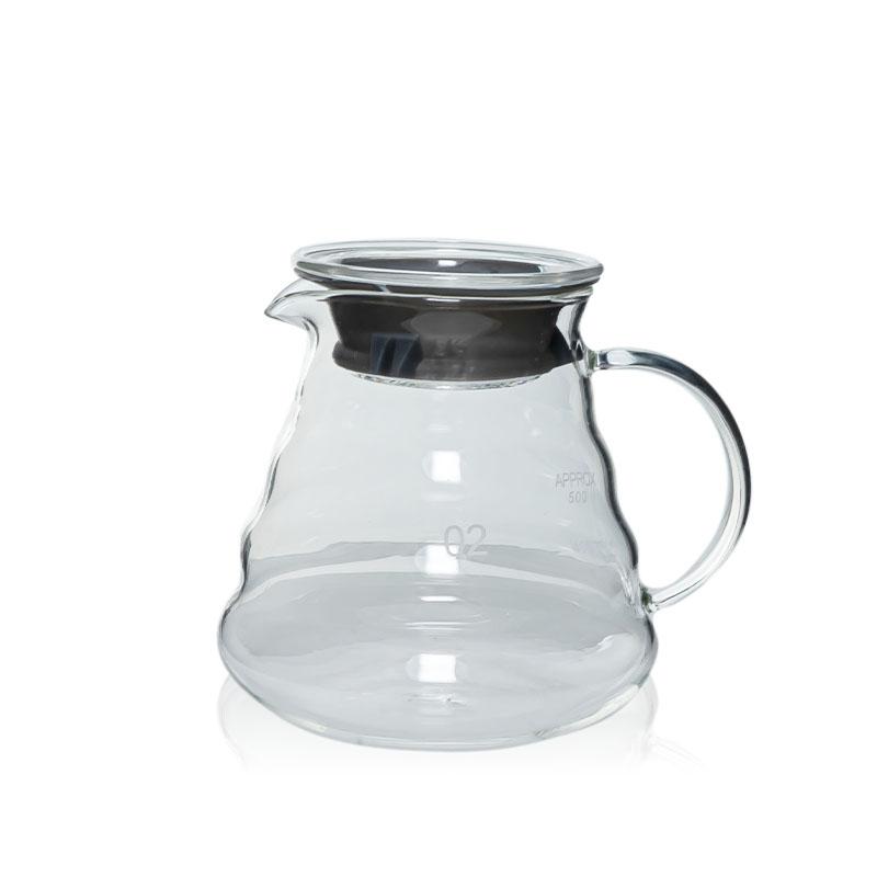 Ecocoffee skleněná konvička 02, 600 ml