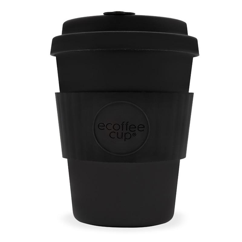 Ecoffee bambusový hrnek, 350 ml, černá