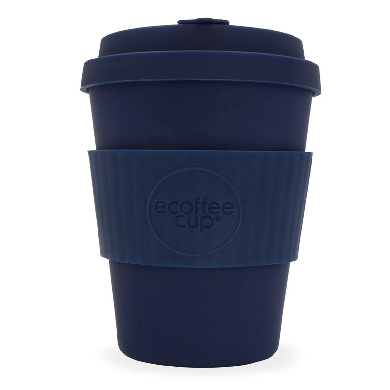 Ecoffee bambusový hrnek, 350 ml, tmavě modrá