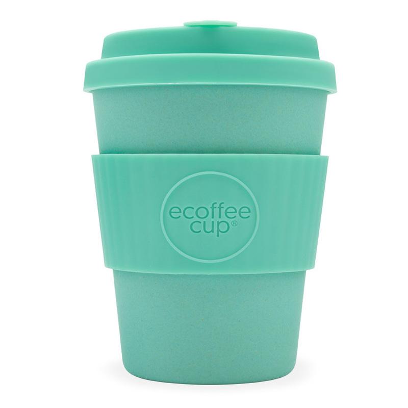 Ecoffee bambusový hrnek, 350 ml, zelená