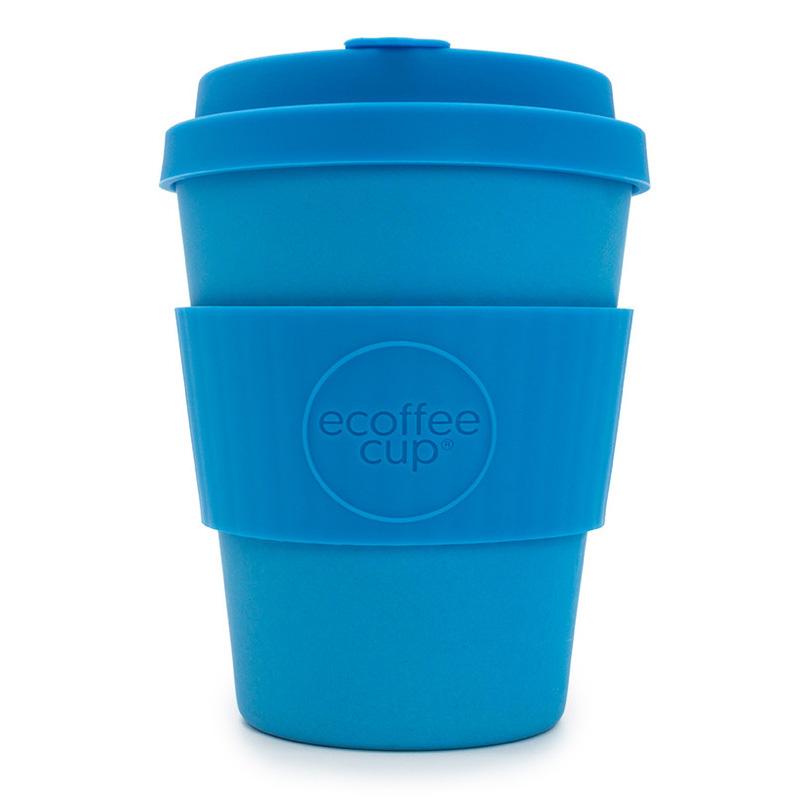 Ecoffee bambusový hrnek, 350 ml, modrá