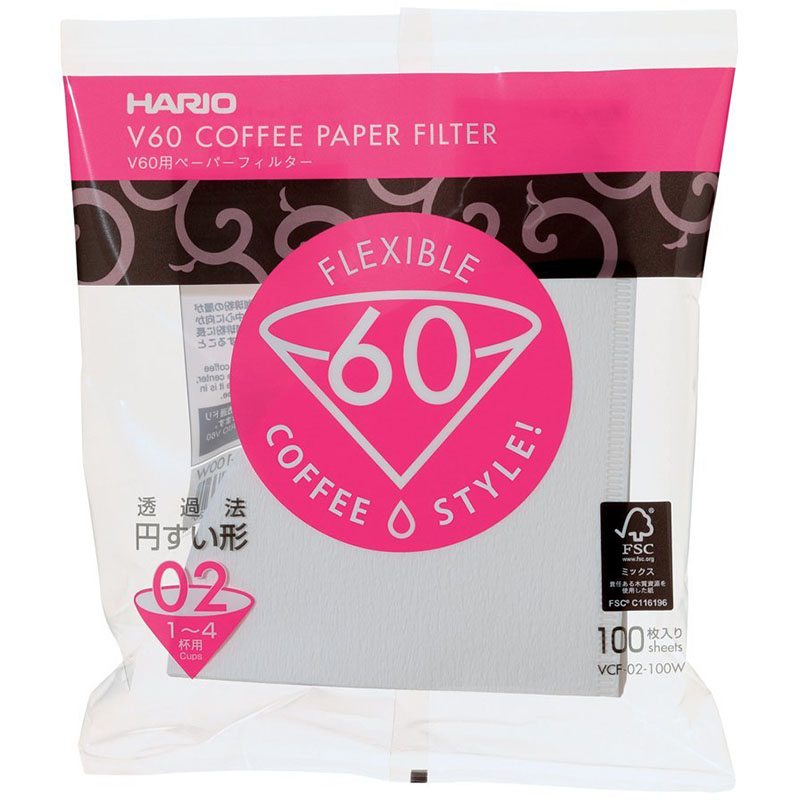Hario filtr pro dripper V60-02