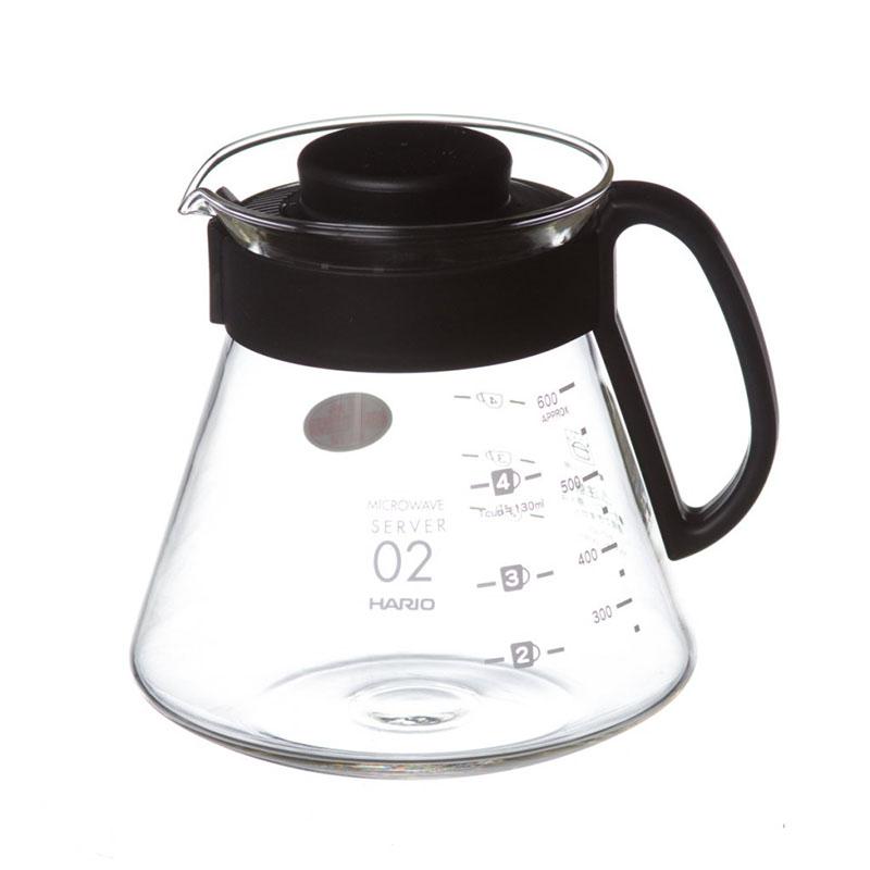 Hario skleněná konvička V60-02, 600 ml