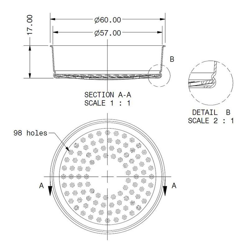 IMS precizní sprcha E61 200 IM