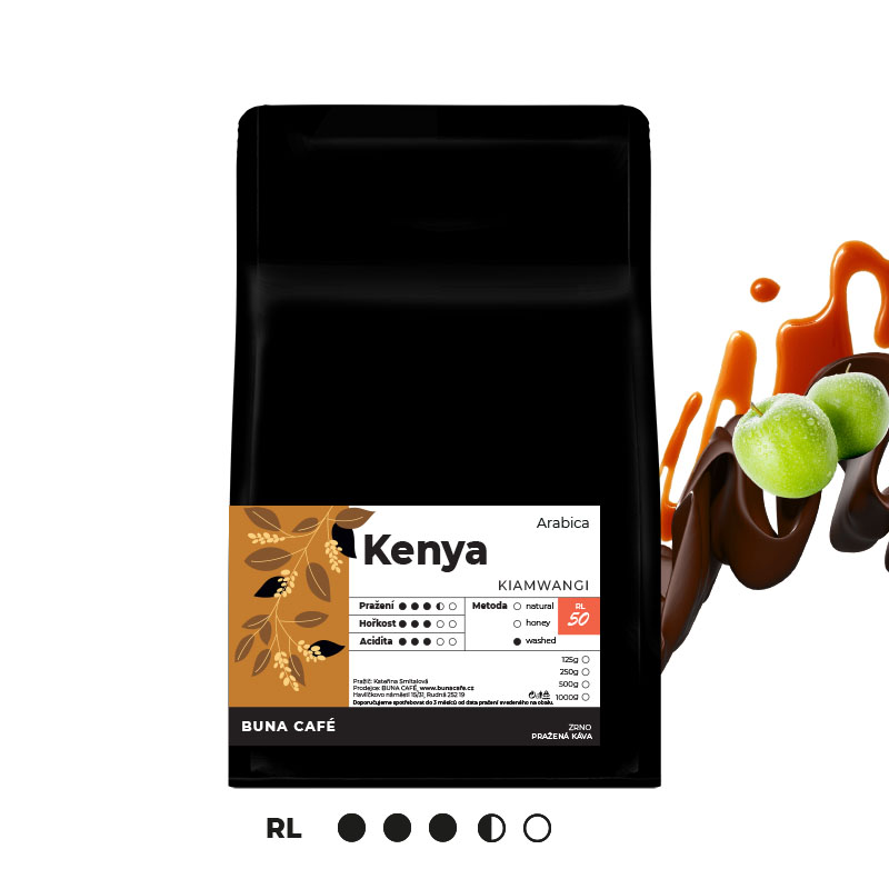Kenya, Kiamwangi, RL50, 250g