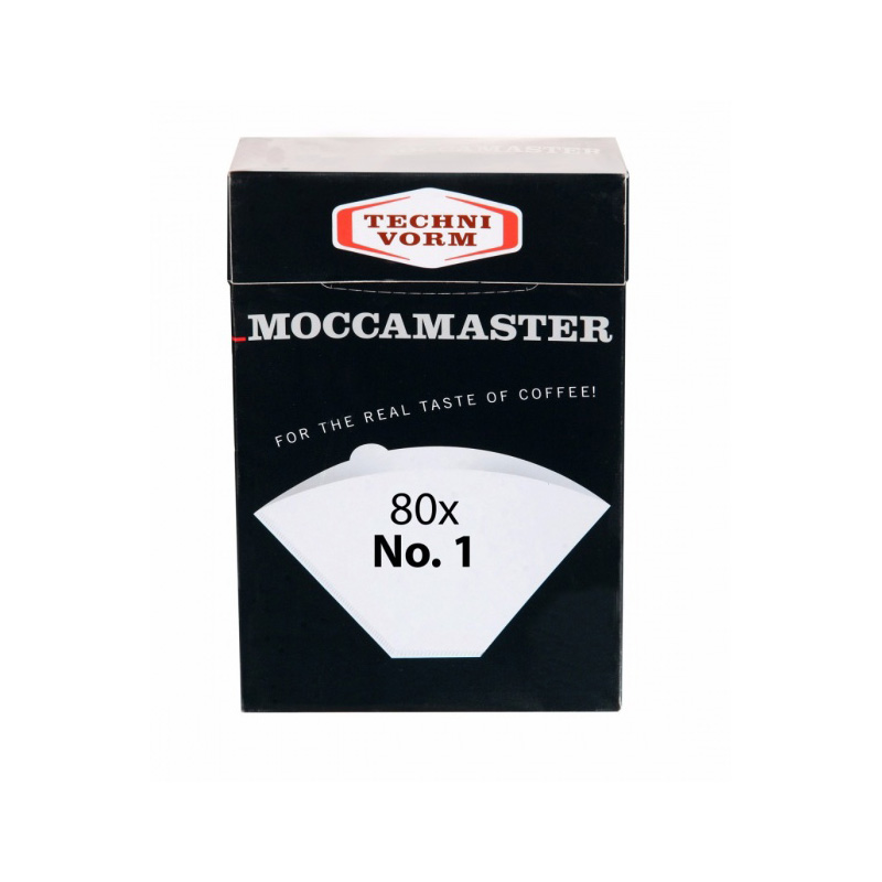Moccamaster papírové filtry velikost 1, 80 ks