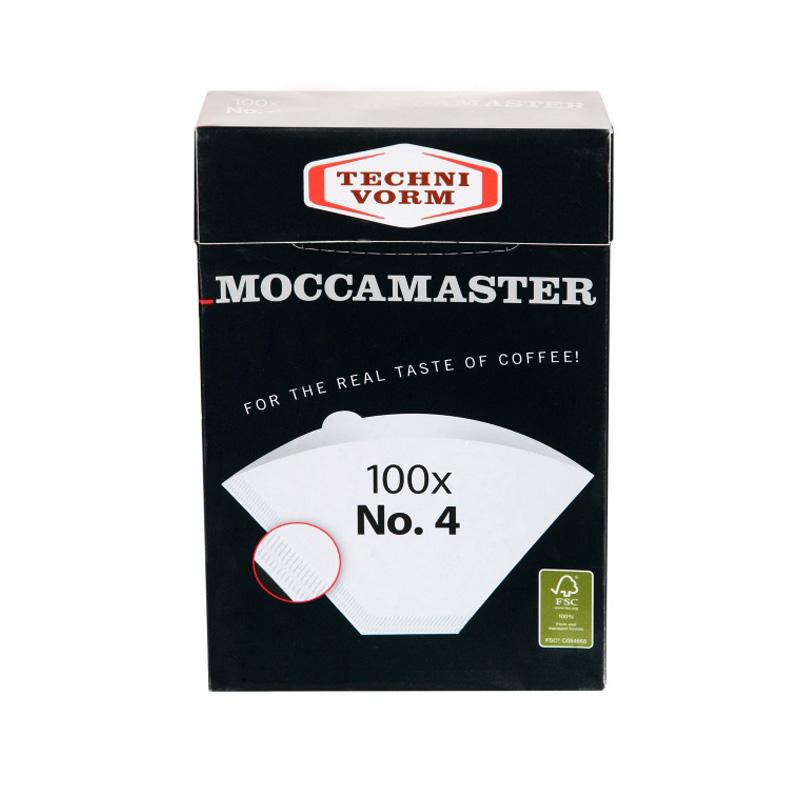 Moccamaster papírové filtry velikost 4, 100 ks