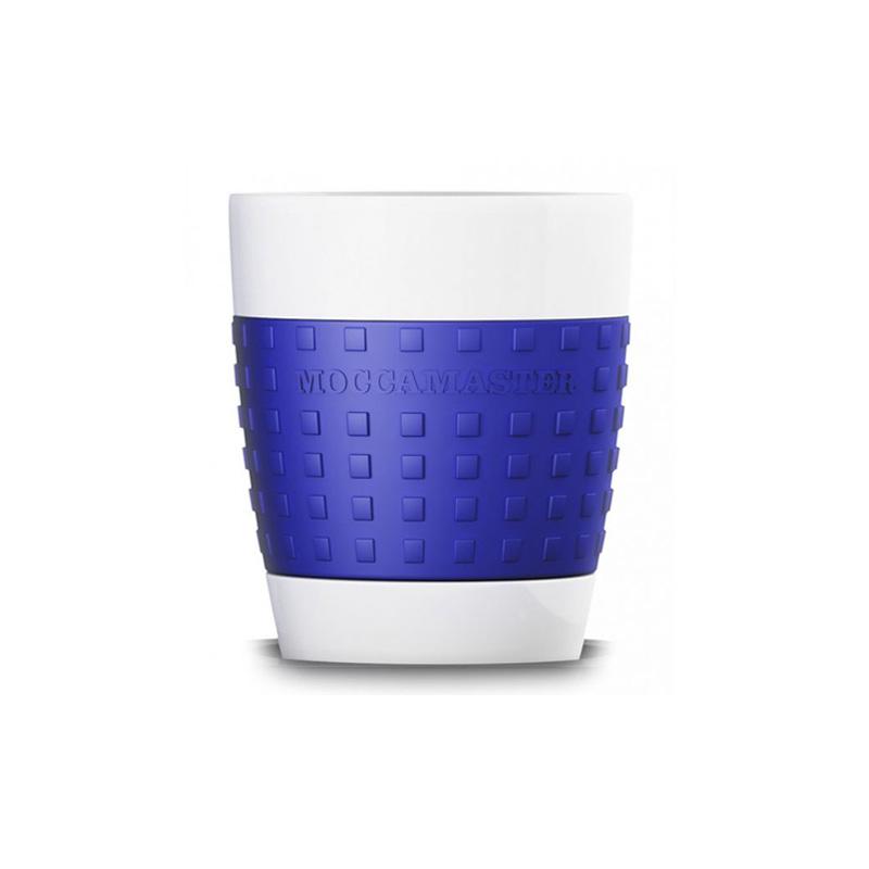 Moccamaster porcelánový hrnek 300 ml, modrý