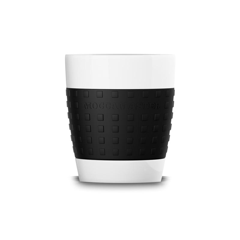 Moccamaster porcelánový hrnek 300 ml, černý