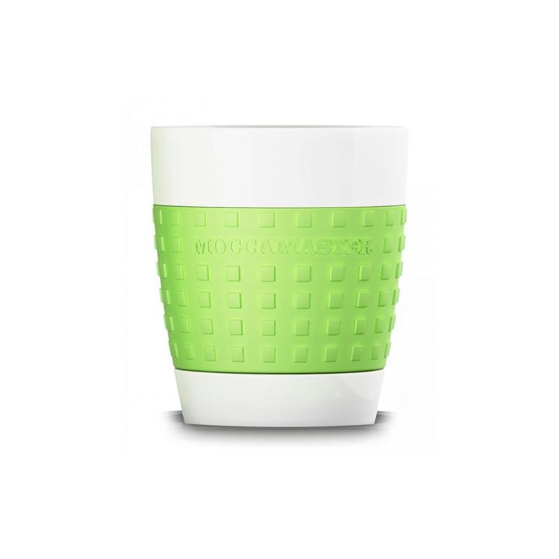 Moccamaster porcelánový hrnek 300 ml, zelený