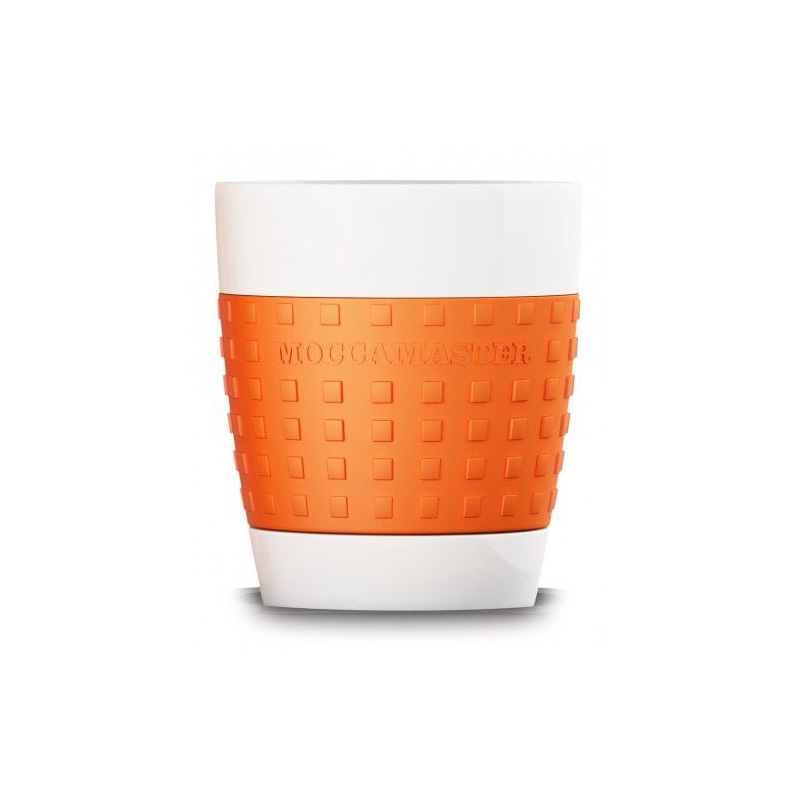 Moccamaster porcelánový hrnek 300 ml, oranžový
