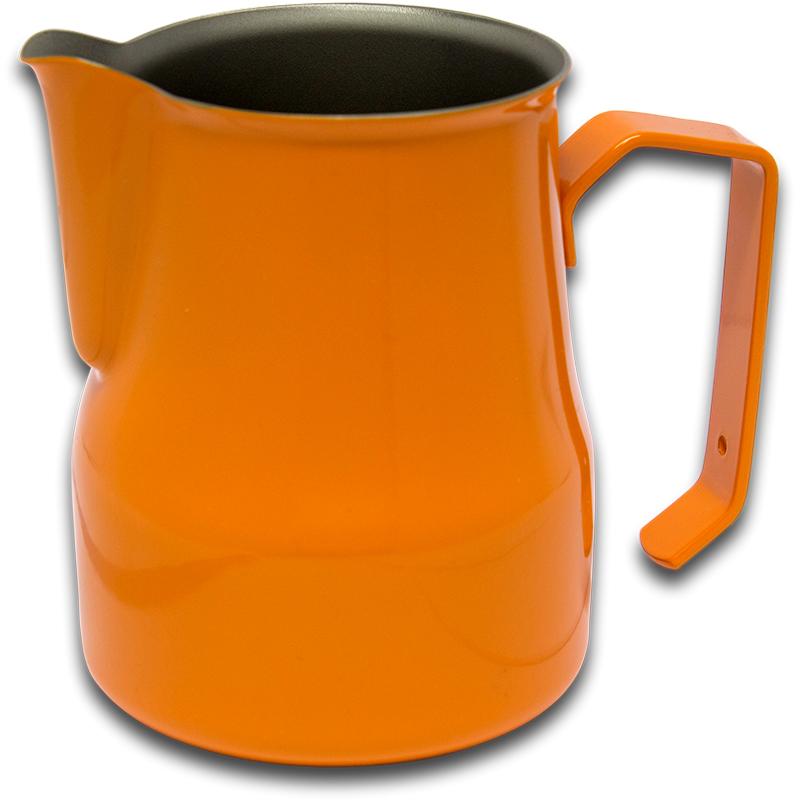 Motta konvička na šlehání mléka Europa, oranžová, 35 cl
