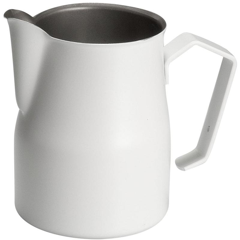 Motta konvička na šlehání mléka Europa, bílá, 35 cl