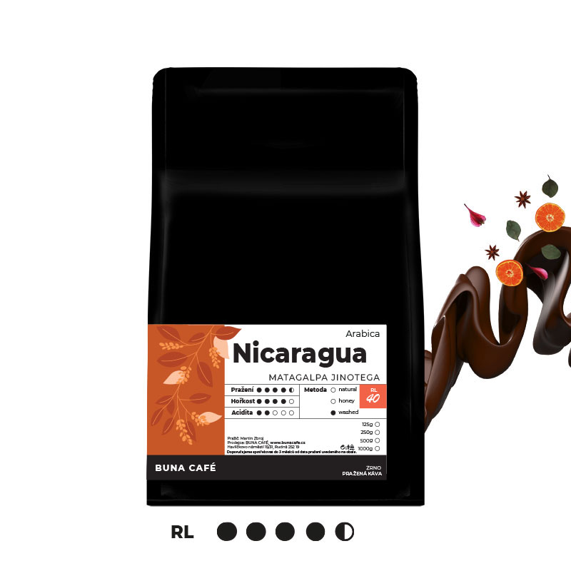 Nicaragua, Thalia Extra - Matagalpa-Jinotega, RL50, 1000g