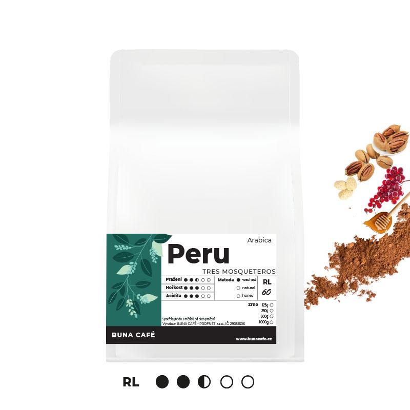 Peru, Tres Mosqueteros, RL60, 500g