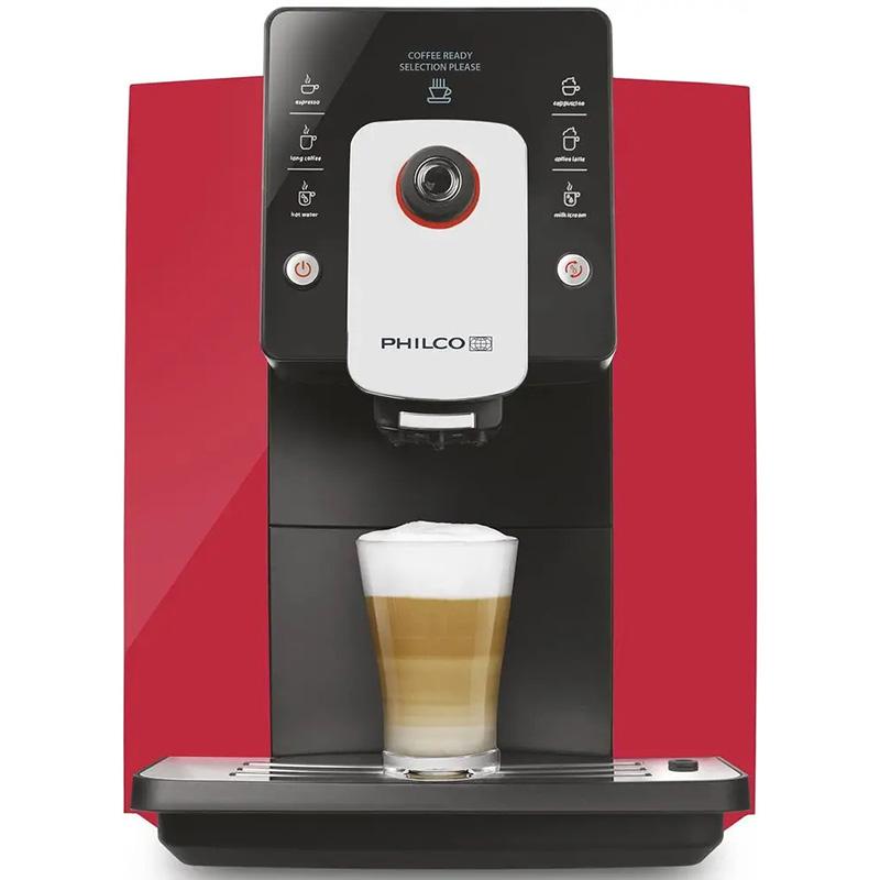 PHEM Automatické espresso 1006, červená