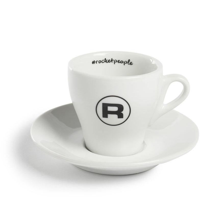 Rocket Espresso šálek s podšálkem #rocketpeople 180 ml (set 6 ks)