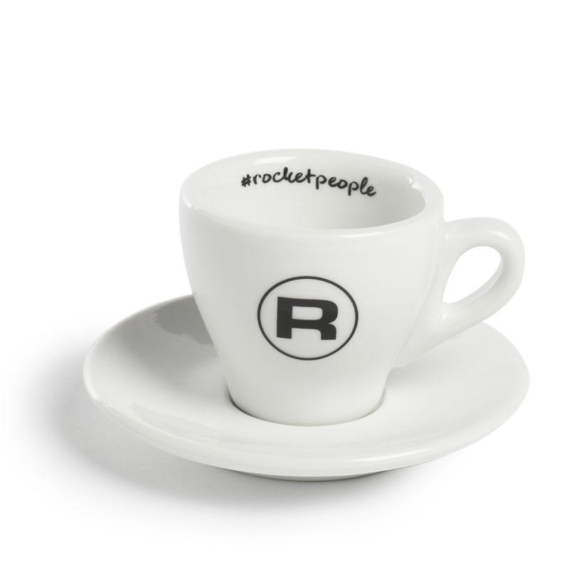 Rocket Espresso šálek s podšálkem #rocketpeople 60 ml (set 6 ks)