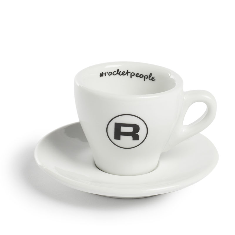 Rocket Espresso šálek s podšálkem #rocketpeople 60 ml