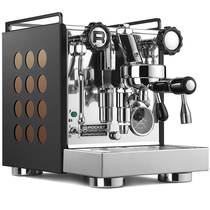 Rocket Espresso Appartamento, black/copper