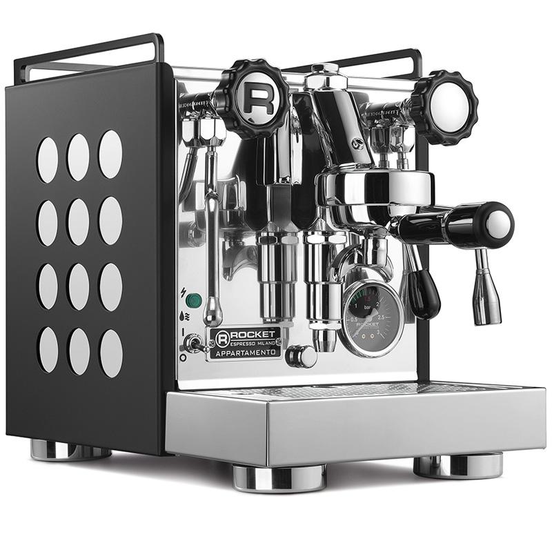 Rocket Espresso Appartamento, black/white