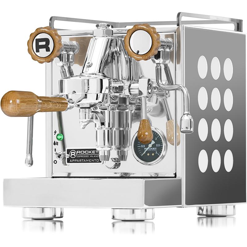 Rocket Espresso Appartamento, white, dub