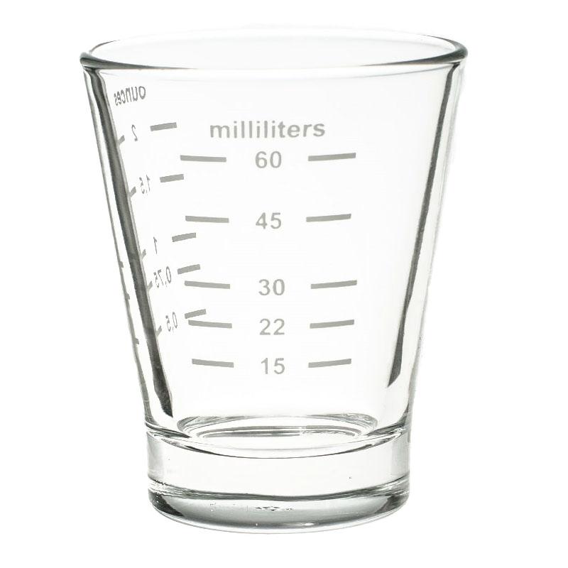 UNI skleněná odměrka, 60 ml