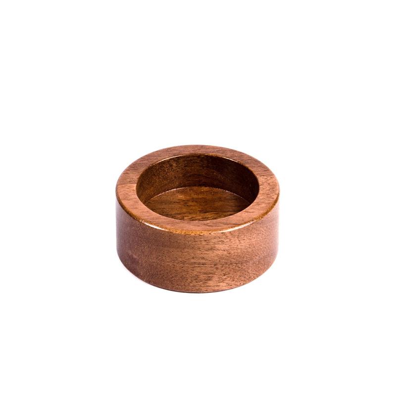 Buna café podstavec na tamper, mahagon, 42 mm